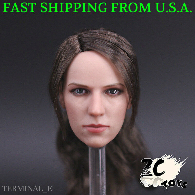 1 6 Metal Gear Solid Quiet Sexy Sniper Female Head Sculpt For 12  Figure ❶USA❶