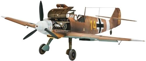 Revell Germany 1/48 Messerschmitt Bf109 F-4 Plastic Model Kit RVL04656 80-4656