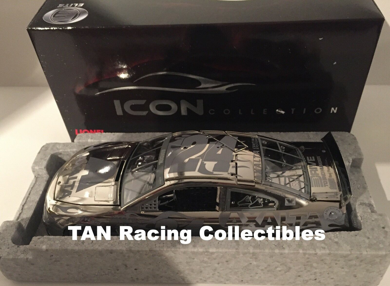 Jeff Gordon 2015 Lionel Collectibles Axalta ICON ELITE Full Chrome 1 24 FREE