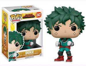 Funko-Pop-Animation-My-Hero-Academia-Deku-247-Vinyl-Figure-Item-12380-New