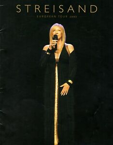 BARBRA-STREISAND-2007-EUROPEAN-TOUR-CONCERT-PROGRAM-BOOK-WITH-INSERT-EXC-2-MINT