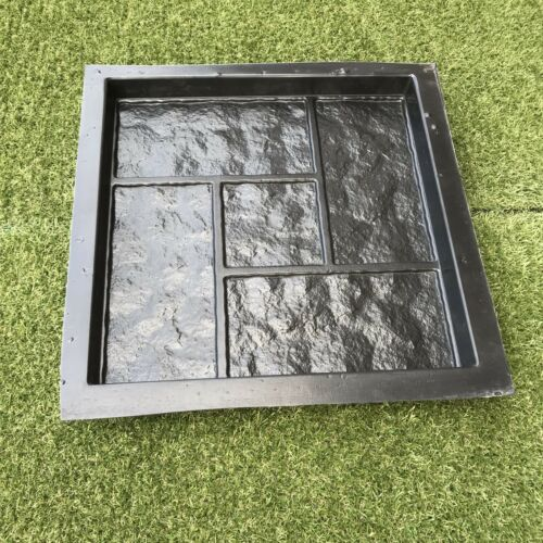 GRANITE Plastic MOLD for Concrete Garden Stepping Stone Path Patio MOULDS CEMENT