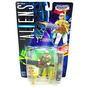 1992 Aliens Space Marine Bishop Android Action Figure Kenner Premium Collector Series Hasbro