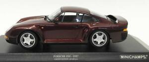 MINICHAMPS-155-066204-066205-066207-PORSCHE-959-models-red-grey-black-1987-1-18
