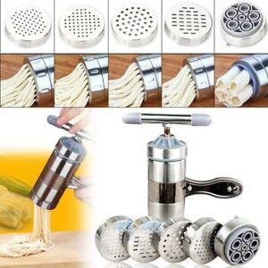 Stainless-Steel-Pasta-Noodle-Maker-Fruit-Juicer-Press-Spaghetti-Kitchen-Machine
