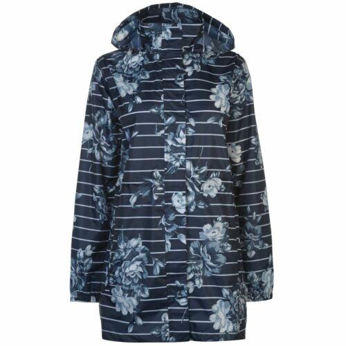 Gelert Packaway Parka Femmes Hydrofuge Veste Manteau Femme à Capuche Léger