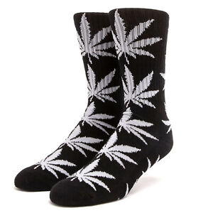 Huf Socks Socken Plantlife Black Hanf Marihuana Weed Dope Cannabis