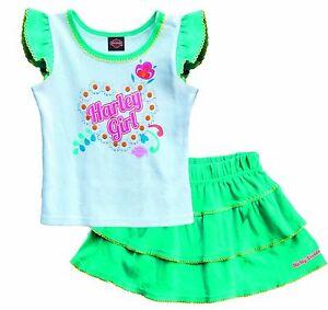 dfaf2eaf5 Harley-Davidson Toddler Girl T-Shirt & Skirt Gift Set - Daisys ...