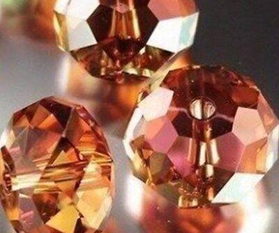 New Multicolor Swarovski Crystal Gemstone Beads 4x6mm 6x8mm