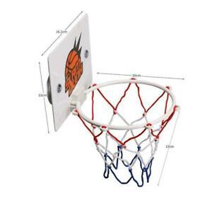 Mini-Children-Play-Hoop-Board-Net-Ring-Hanging-Home-Basketball-Rack-Office-V7M2