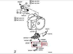mitsubishi lancer outlander a  t automatic valve body oil