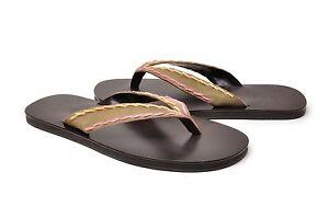 True-Religion-Shoes-Sam-Sandal-Flip-flop-106100-Brown-Pink-Suede