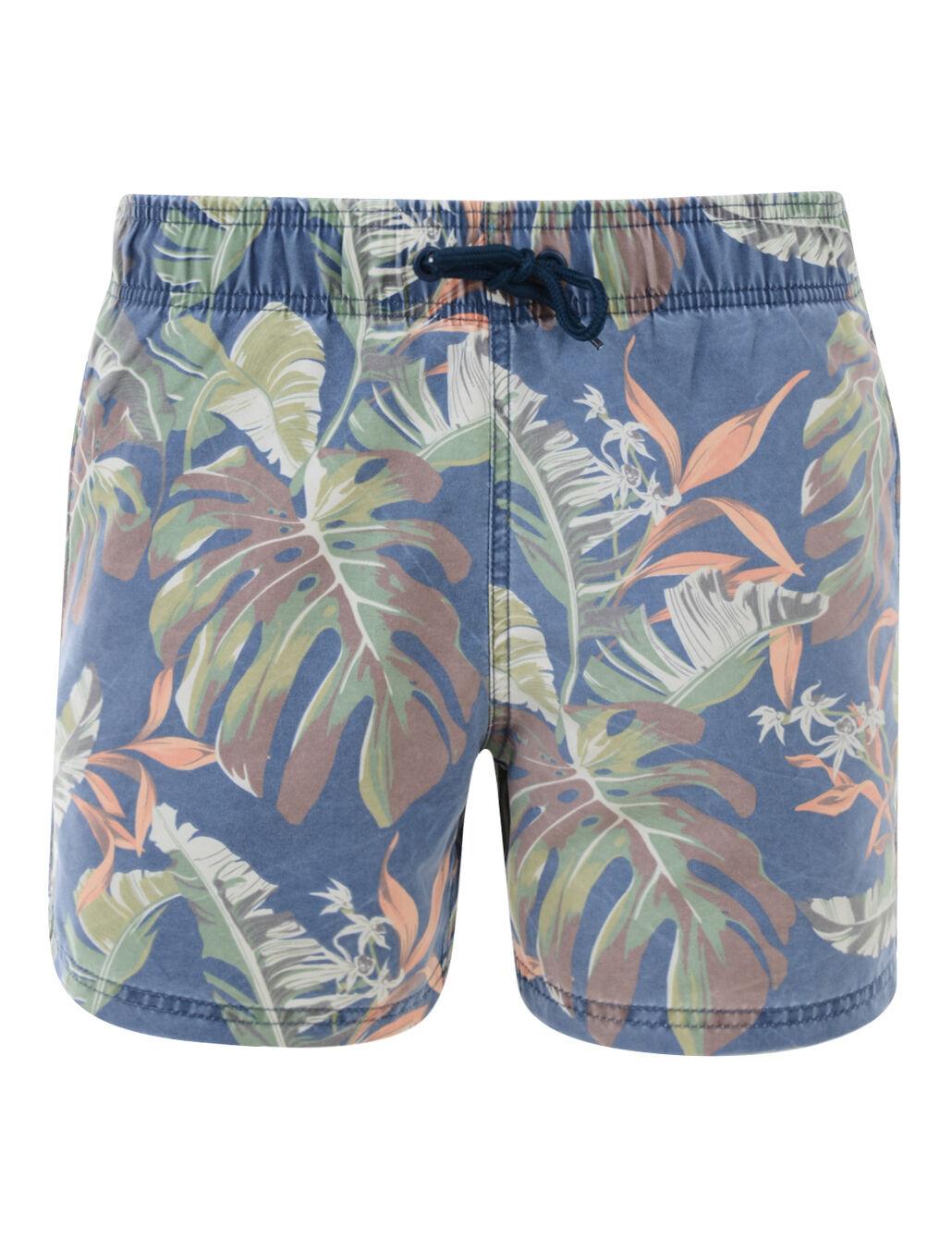 Blend New Men's Casual Floral Flower Summer Beach Swim Water Surf Shorts