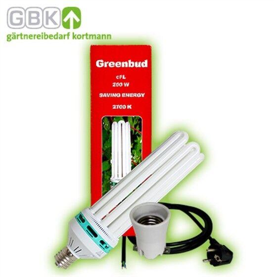 80% di sconto verdebud 200w lampada lampada lampada a risparmio energetico rosso fioritura ESL CFL piante lampada Grow 2700k  prendi l'ultimo