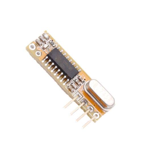 Wireless 433Mhz Superheterodyne Receiver RXB8//6 RXB14 RXB12 RXC6 //AVR ATF