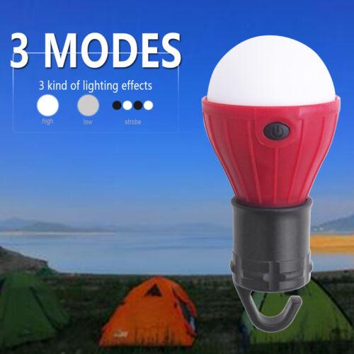 4 Colors Mini Portable LED Tent Light Light Bulb Outdoor Camping Emergency Lamp