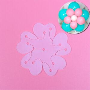Doppelschicht-Ballon-Plum-Blossom-Arch-Kunststoff-Schnalle-Geburtstag-Hochze-M0