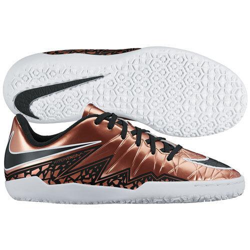89198145f Nike HyperVenom Phelon II Indoor Soccer Shoes 2015 Bronze / Black Kids Youth