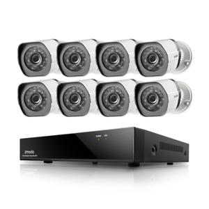 Zmodo 1080p 8CH HDMI NVR 8 IP Outdoor Surveillance Camera PoE System w// 2TB HDD