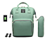 Sac-a-Dos-a-Langer-Bebe-Maman-Maternite-Sac-a-Main-Baby-USB-Hook-Bottle-Bag miniatuur 12