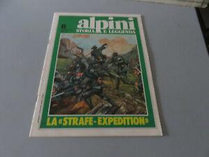 Alpino-Storia-Y-Leyenda-Fasciculo-11-1981-Rizzoli-Editorial-Excelente-Stato