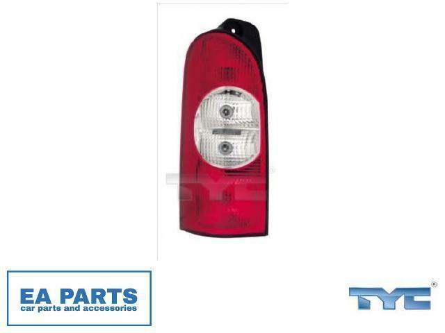 Combinación Rearlight para Nissan Opel Renault Tyc 11-0570-01-2