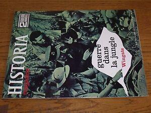 $$$ Revue Historia 2e Guerre Mondiale N°50 Guerre Dans La Jungle Wingate Dans La Douleur