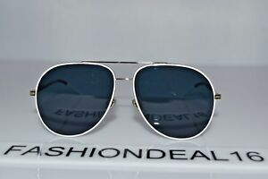 5b947f6510a New Christian Dior AUTH Aviator Astral B4EKU White Gold 59-14-145 ...