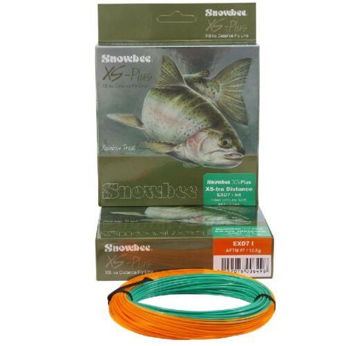 Intermediate /& Fast Sinking Snowbee XS-Plus XS-tra Distance Fly Lines Floating