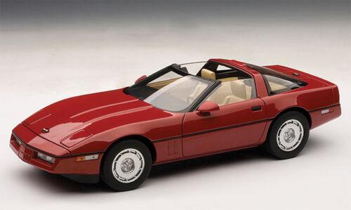 AUTOart Diecast 1986 Bright Red Corvette
