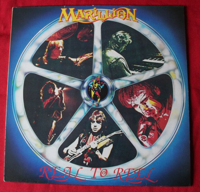 Marillion, real to reel, LP - 33 Tours France