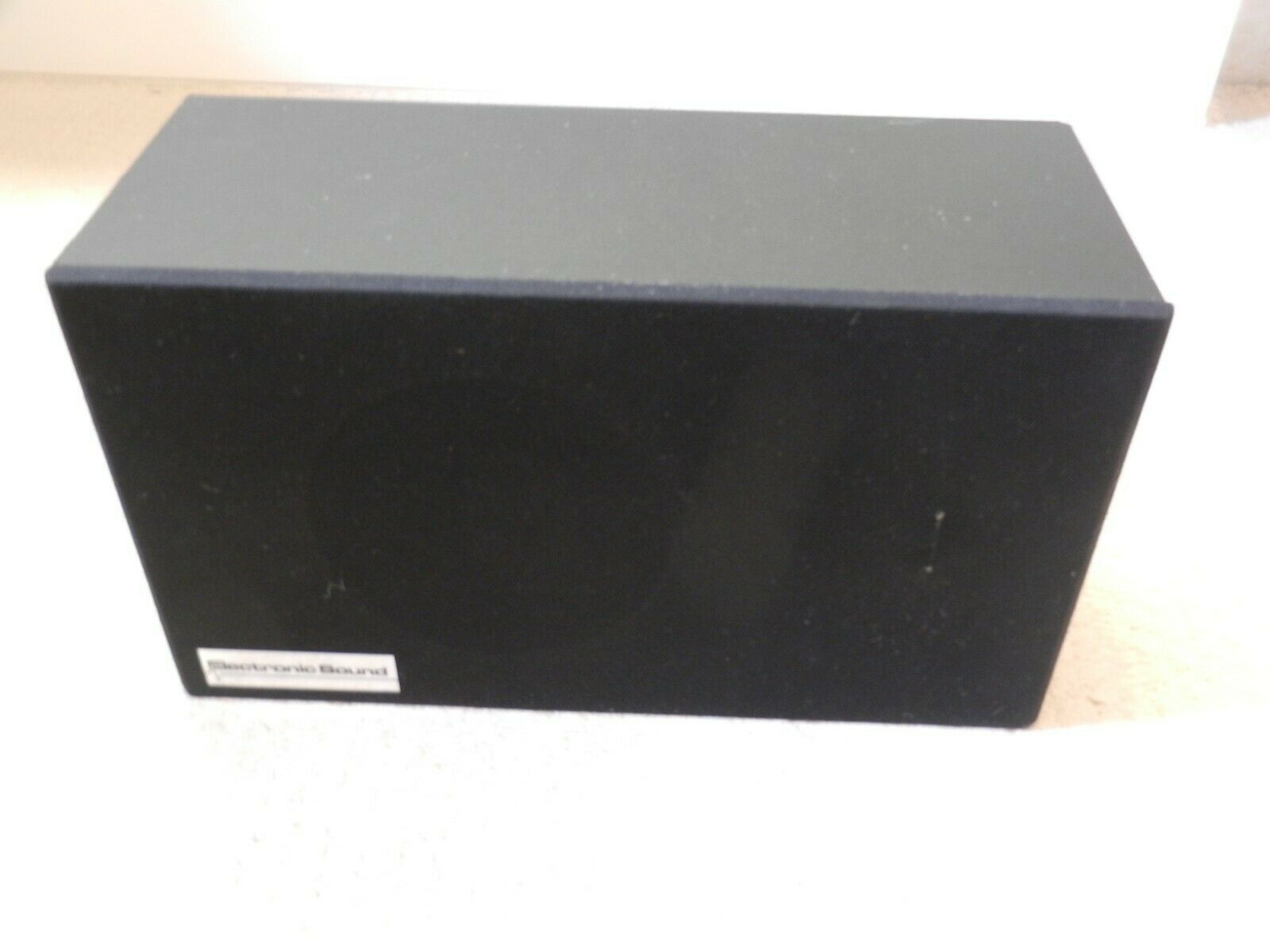 PA Wall Speaker, 6w - 100v by Electronic Sound for speech and music. Tested OK