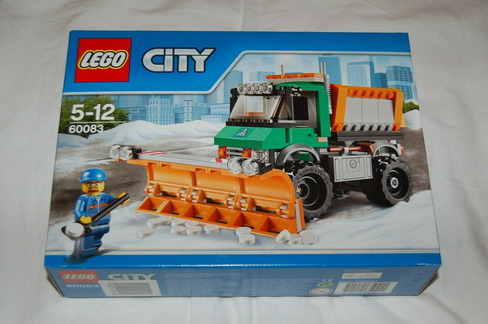 LEGO CITY 60083 Schneepflug NEU  passt zu zu zu 60152 60075 60120 60119 60118 60181 aa2779