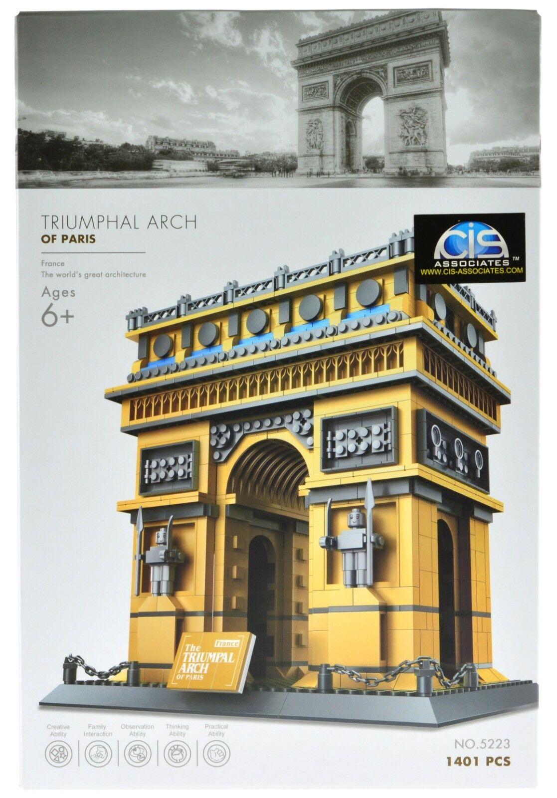 Wange The Triumphal Arch of Paris