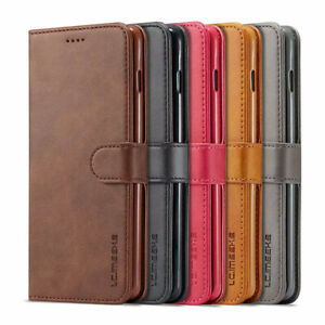 For-Samsung-Galaxy-Note-10-S10-S10-Plus-Genuine-Leather-Flip-Wallet-Case-Cover