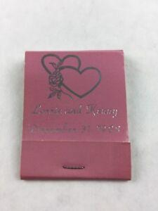 Vintage-Lorrie-and-Kenny-1988-Reception-Wedding-Matchbook