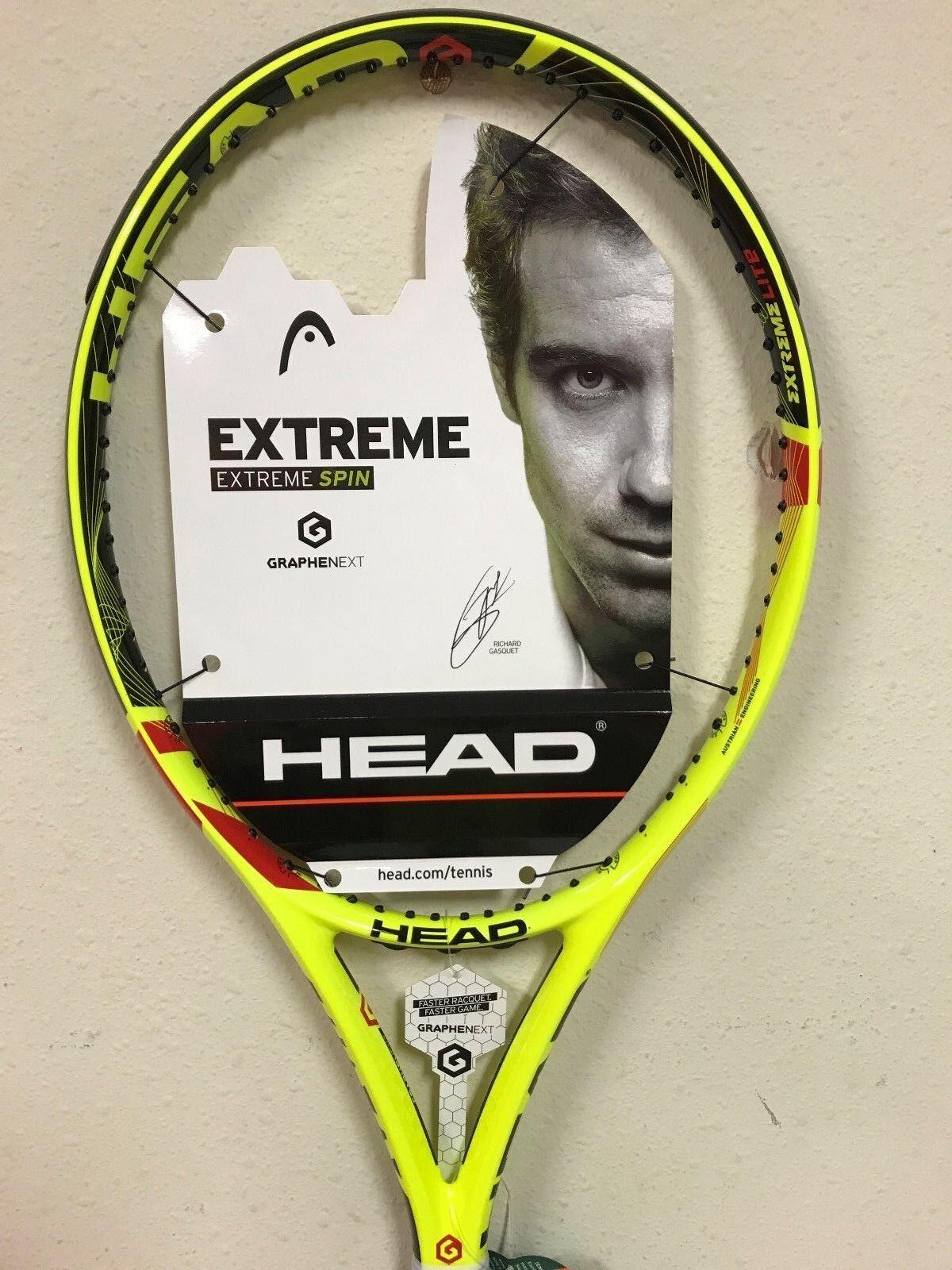 Head Graphene Xt Extreme Lite Tenis Raqueta Agarre  8