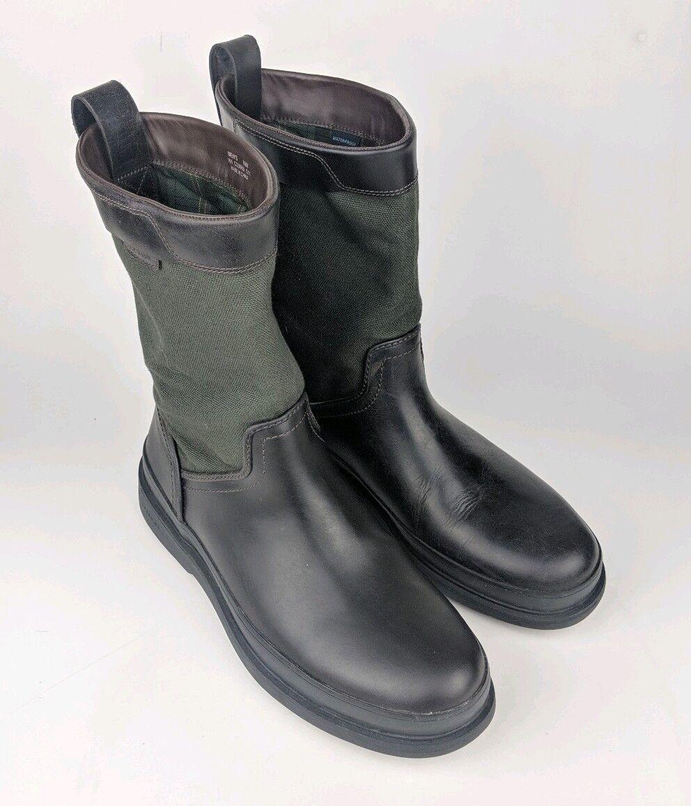 Para Hombres Cole Haan Millbridge C25985 Cuero Textil botas Impermeable 8.5 M EE. UU. usado En Excelente Condición