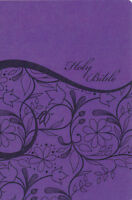 Kjv Sisters In Faith Holy Bible---soft Leather-look, Grape