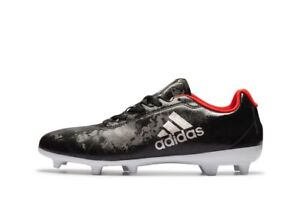 NEW Adidas X 17.4 FG Women s Soccer Cleats BA8564 Black Plamet Red ... 8cc2b4fe89