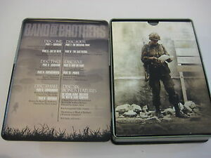 2002-Band-of-Brothers-DVD-6-Disc-Set-Damian-Lewis-Can-Box