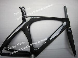 Popular Carbon Track Bike Frame Fixed Gear Single Speed Free