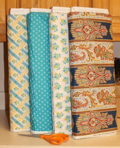 New Orleans Paisley Florals Lattice Collection SOLD SEPARATELY  PRICE REDUCED