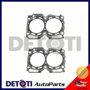 What Year Did Subaru Fix Head Gasket >> Details About Head Gasket Set Fix For 99 10 Saab Subaru 2 5l H4 Engine Code Ej25 Graphite Kit