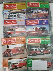 FIRE APPARATUS JOURNAL MAGAZINE January - December 2007