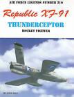 Republic XF-91 Thunderceptor Rocket Fighter by Steve Pace (Paperback / softback, 2000)