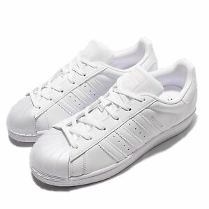 adidas Originals Superstar Glossy Toe W Triple White Women Casual Shoes BB0683