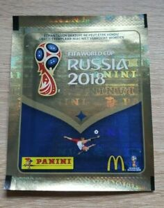 Panini-coupe-du-monde-2018-1-McDonalds-Sac-Belgique-Bustina-pochette-packet-World-Cup-18