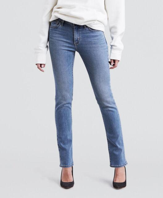 Women's Levi 712 Slim Fit Jeans Blue W30 L30