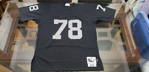 Details about Mitchell & Ness Art Shell Oakland Raiders 1976 Jersey Orig: $260 Size: 48